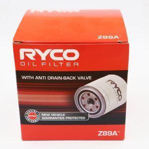 Ryco Oil Filter Z89A